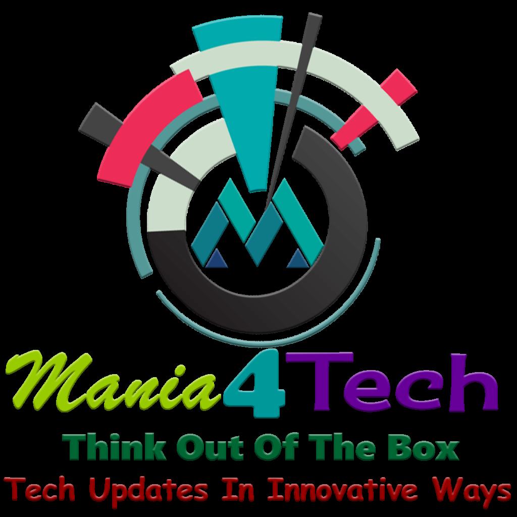 Mania4Tech Logo Vector